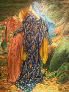 """In Awe"" by Edwin Austin Abbey"