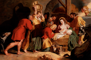 """The Adoration of the Shepherds"" (After Sir Peter Paul Rubens)"