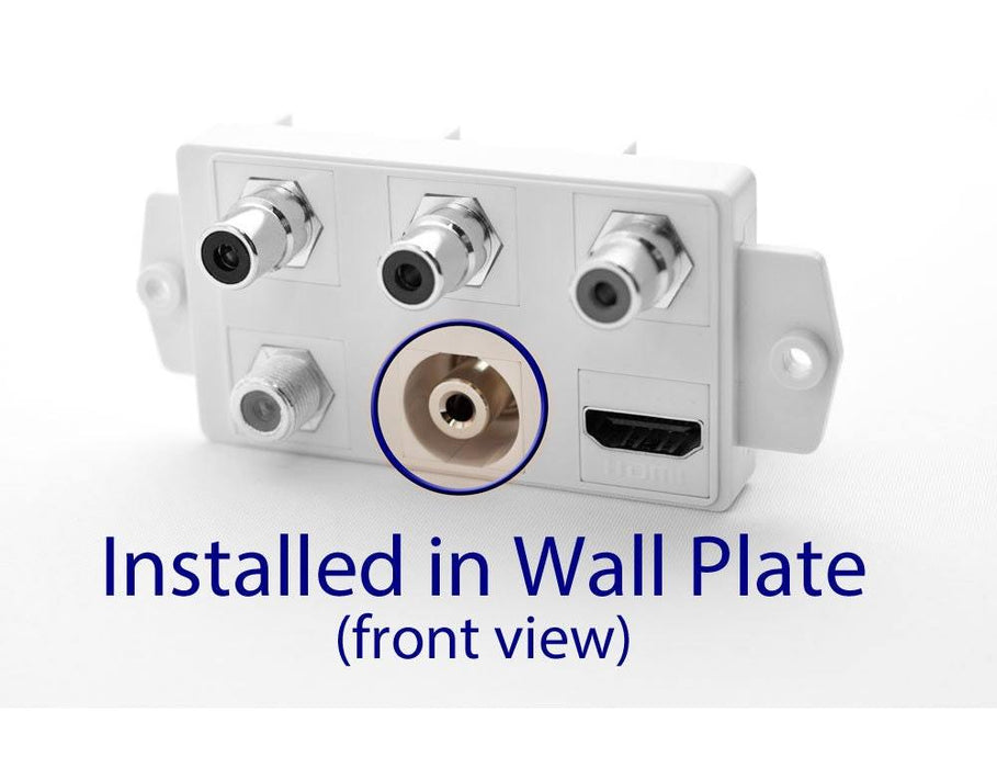 "3.5mm (1/8"") Stereo Keystone Jack Sewell Direct"