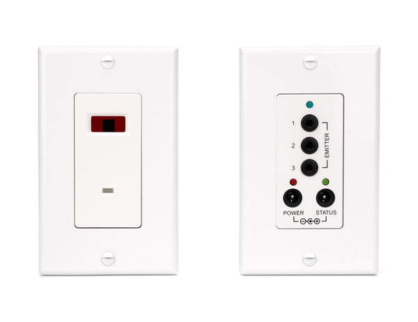 BlastIR Emitter and Receiver Wall Plate Kit IR Sewell