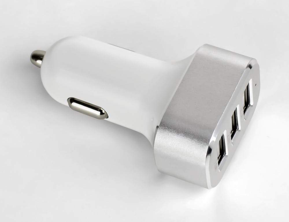 Circa USB Car Charger 3-Port, 5.1A Sewell