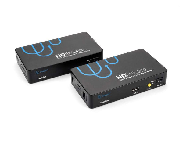 HD-Link HL15, HDMI, IR, USB 2.0, RS232, and Audio over Cat5e/6, 330ft. Extender Sewell