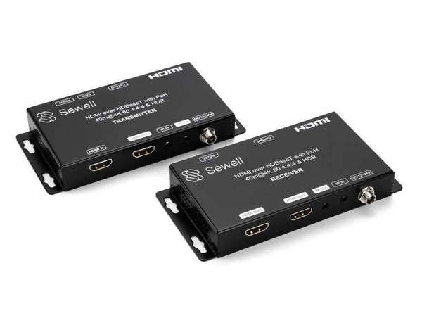 HD-Link HL26, HDMI, IR, and RS232 extender over Cat5e/6, HDBaseT, HDMI 2.0, 130ft. Extender Sewell