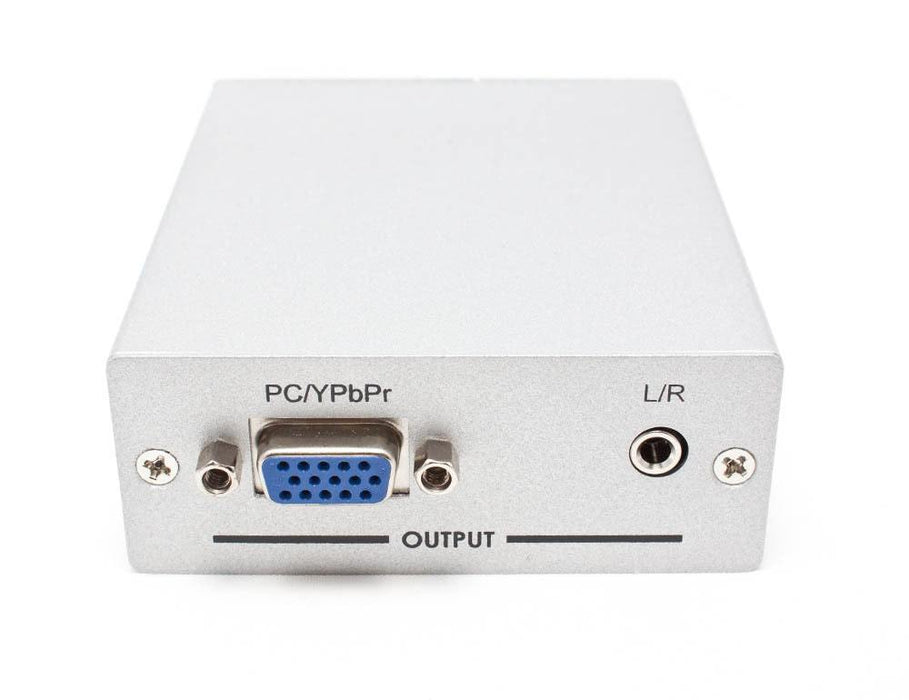HDMI to VGA (RGB) and Component (YPbPr) Converter with Audio Sewell