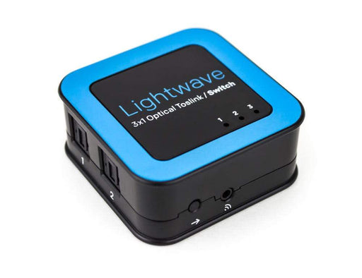 Lightwave 3x1 Optical Toslink Switch Sewell