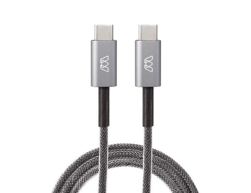MOS Spring USB-C Cable MOS Grey 1 ft. SW-32990-1