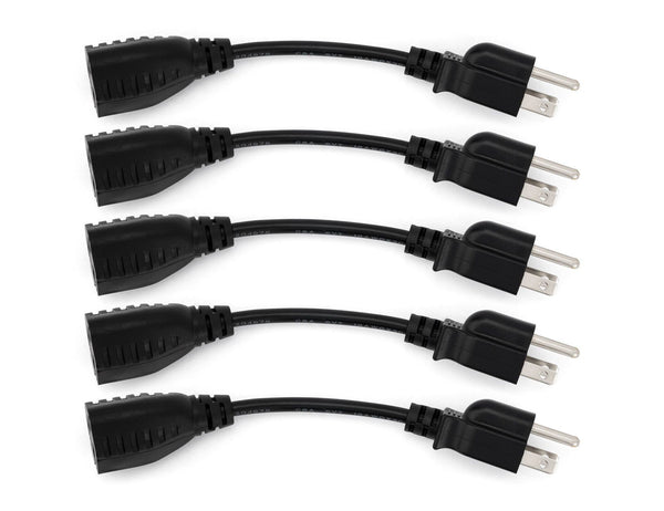 Power Extension Cable Sewell .5 ft. 5 Pack SW-30376-5P