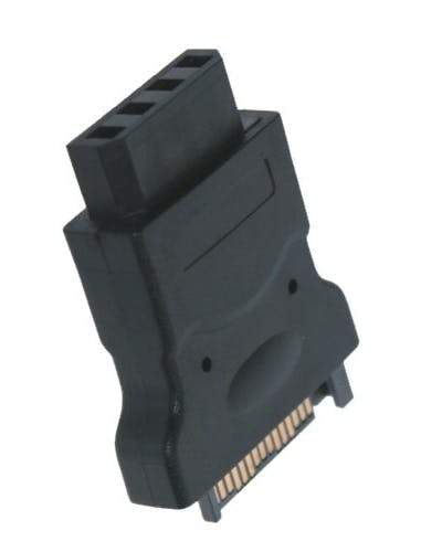 SATA 15-Pin Power to 4-Pin Molex Adapter Sewell Direct