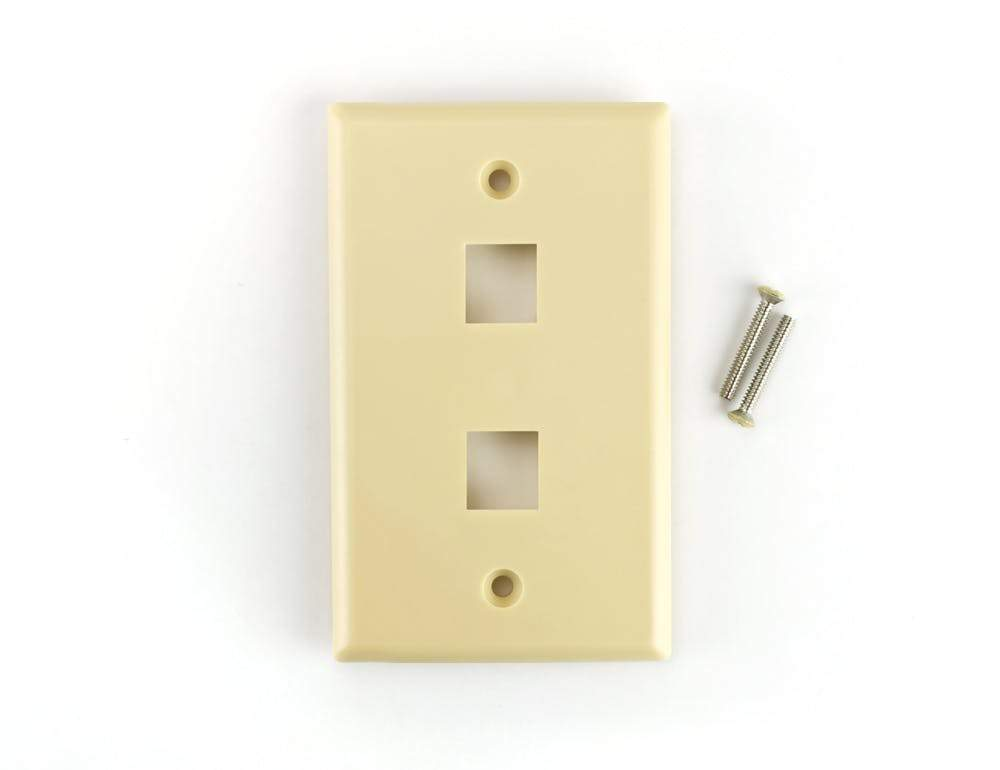 Sewell Keystone Wall Plate, Ivory, Sewell Direct