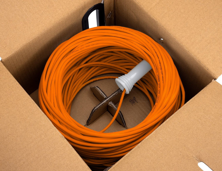 SolidRun Cat5e Bulk Cable, 24 AWG, UTP, 1,000ft, Pull Box Sewell