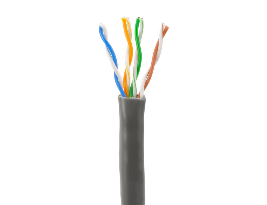 SolidRun Cat5e Bulk Cable, 24 AWG, UTP, 1,000ft, Pull Box Sewell Dark Gray SW-23014