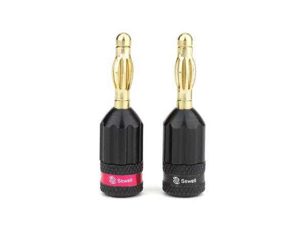 Strike Banana Plugs Sewell 1 pair SW-30530-1