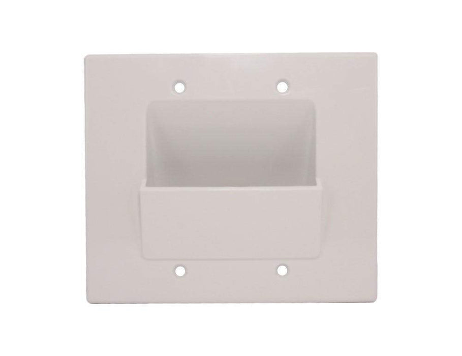 Wallblade, Dual Gang Recessed Wall Plate Wall Plate Sewell
