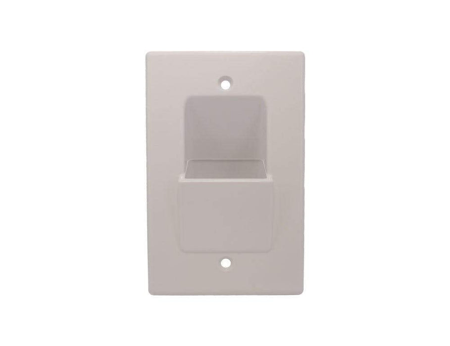 Wallblade, Single Gang Recessed Wall Plate Wall Plate Sewell