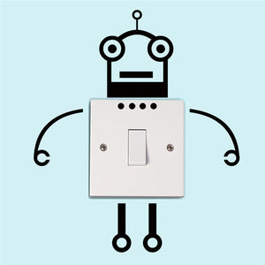 Fashion Robot Switch Sticker - Padin Trends