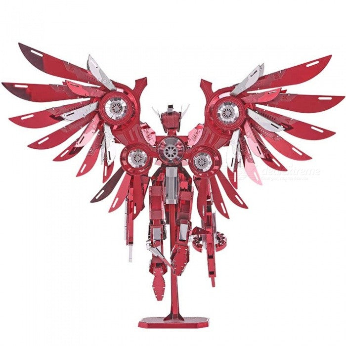 Thundering Wings Robot DIY Puzzle 3D Model - Padin Trends