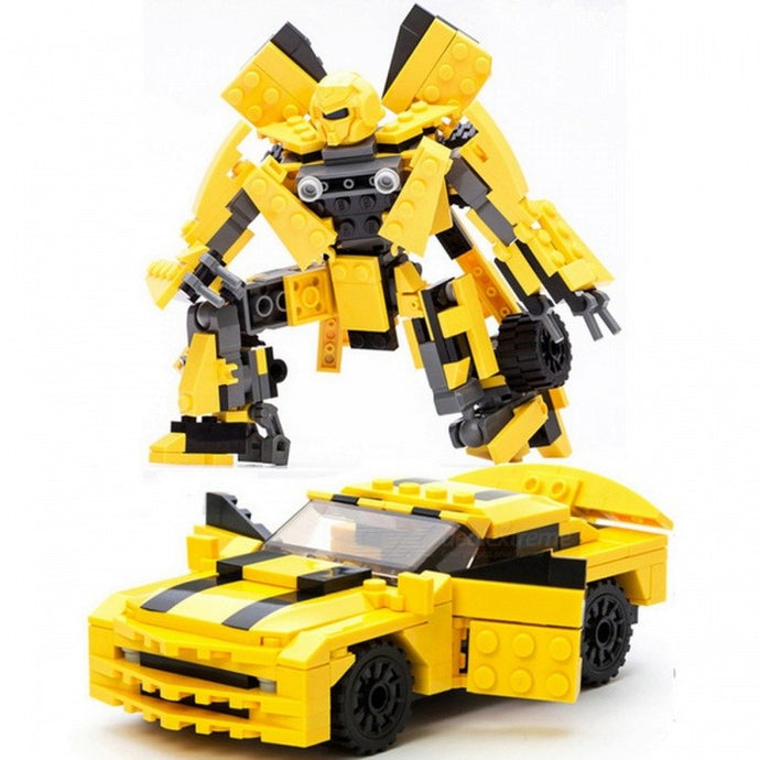 Robot Car Building Blocks Set - Padin Trends