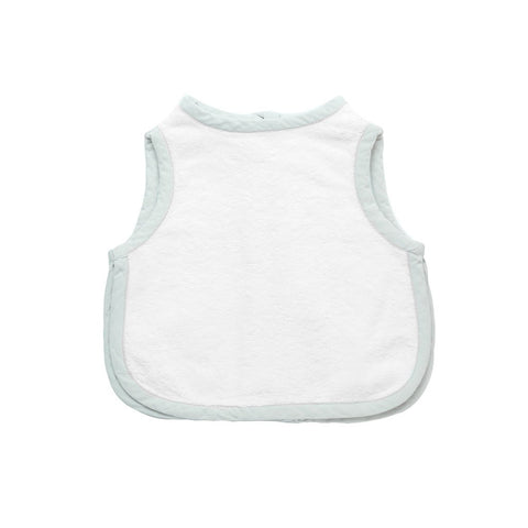 Apron bib | French grey