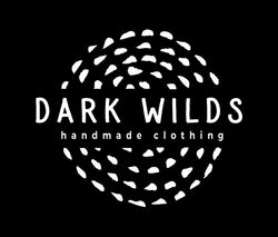 Dark Wilds handmade clothing logo brand