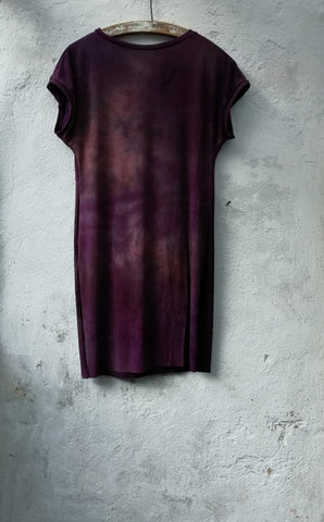 Purple tunic tshirt dress