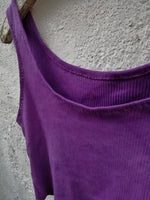 Allure crop top - electric mauve