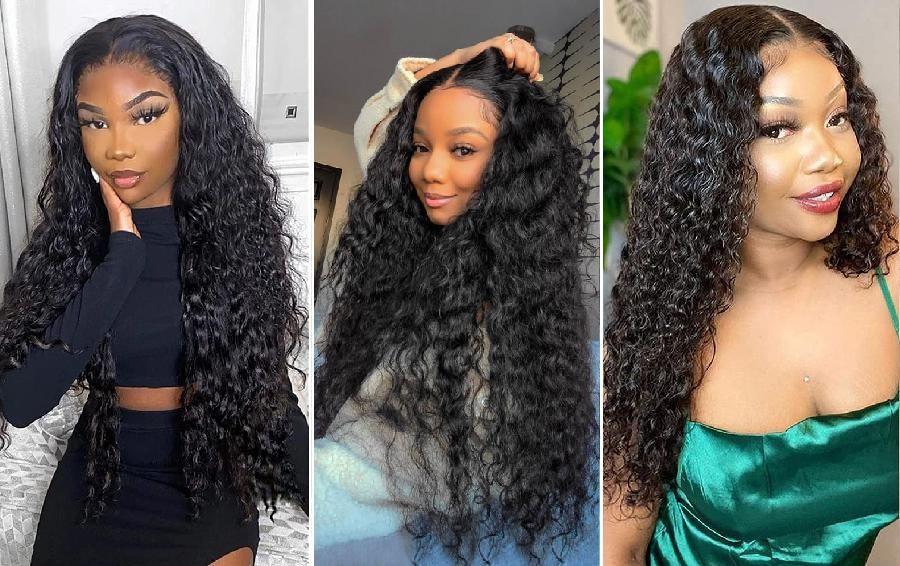How to keep water wave hair from frizzing?