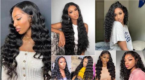 How to revive loose deep wave hair wig with deep conditioning?