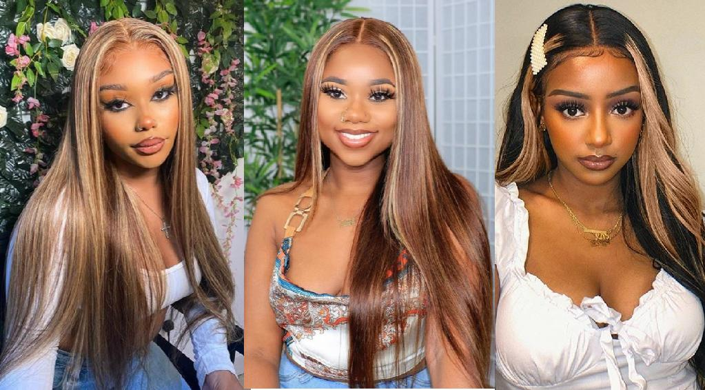 Perfect Wig for Brown Skin! Highlight T-Part Wig