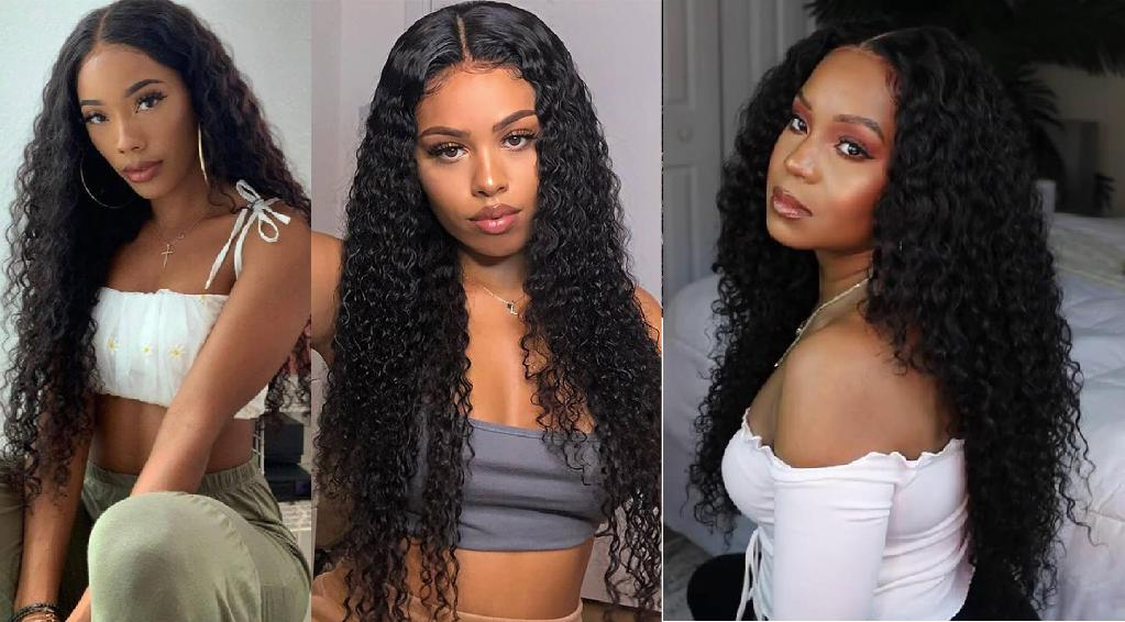 Summer vibes! Must have deep wave hair HD lace t part wig!