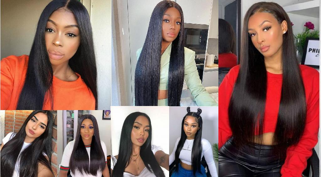 What is the difference between natural straight hair and bone straight hair?