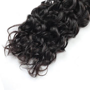 10A Brazilian Water Wave Human Hair 4 Bundles With 4*4 Lace Closure - MeetuHair