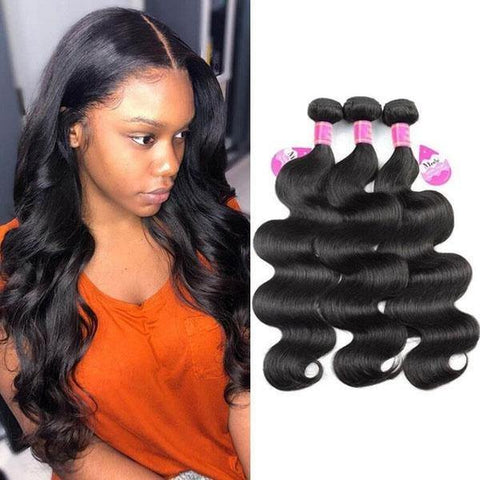 10A Peruvian Body Wave 3 Bundles Virgin Remy Human Hair Weave - MeetuHair
