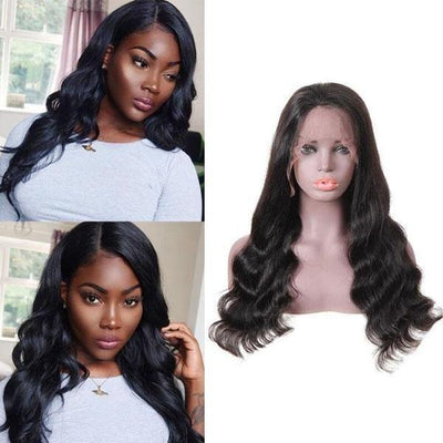 10A Remy Brazilian Loose Wave Wig 13*4 Lace Front Human Hair Wigs - MeetuHair
