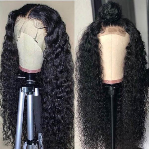 Deep Wave Lace Wig 13x4 Lace Front Wigs Malaysian Virgin Hair Wigs - MeetuHair