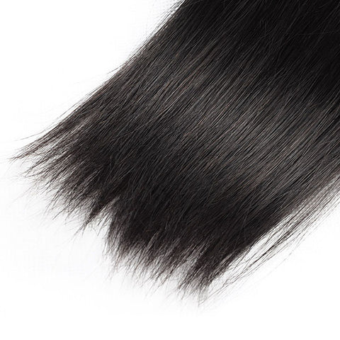 Meetu 10A Peruvian Human Hair Straight Hair 4 Bundles