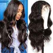 Body Wave 4*4 Lace Front Wig 10A Virgin Brazilian Hair Human Hair Wigs - MeetuHair