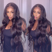 Body Wave Hair Wig HD Transparent Lace Front Wig T Part Wigs - MeetuHair