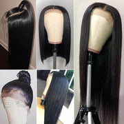 Indian Straight Hair Wig 10A 13*4 Lace Front Human Hair Wigs - MeetuHair