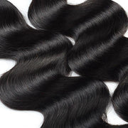 Meetu Hair Peruvian Body Wave 3 Bundles with 4*4 Lace Closure Virgin Human Hair Weave - MeetuHair