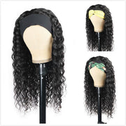 Meetu Hair Water Wave Hair Headband Wig Affordable Natural Hair Half Wigs - MeetuHair
