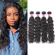 Peruvian Water Wave 4 Bundles Meetu 10A Virgin Remy Human Hair Weave - MeetuHair