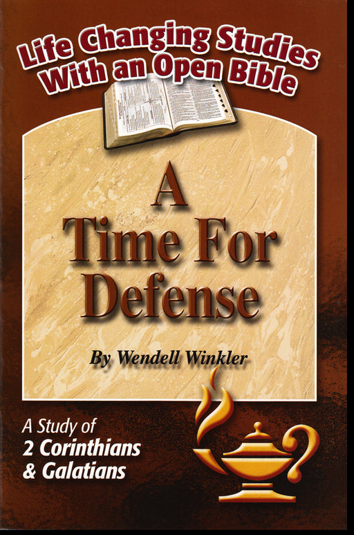 A Time for Defense