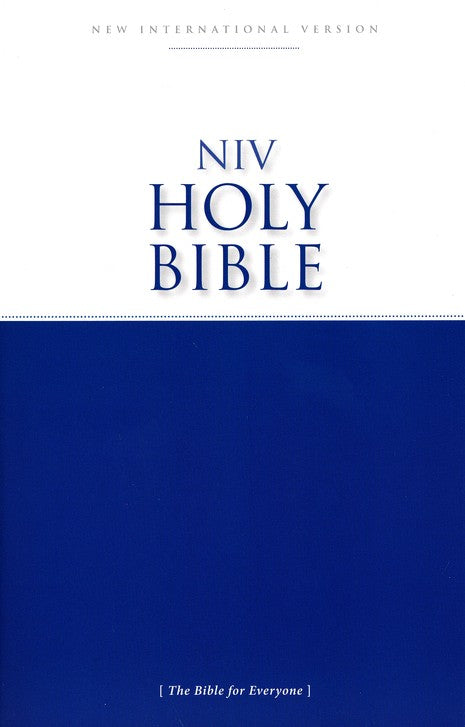 NIV Economy Outreach Bible, paperback