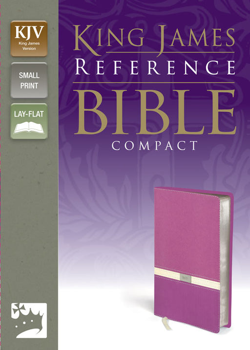 KJV Compact Reference Bible Italian Duo-Tone - Orchard/ButterCream