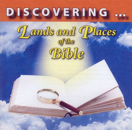 Discovering Lands & Places of the Bible - Waldron Flash Drive of Bible Maps
