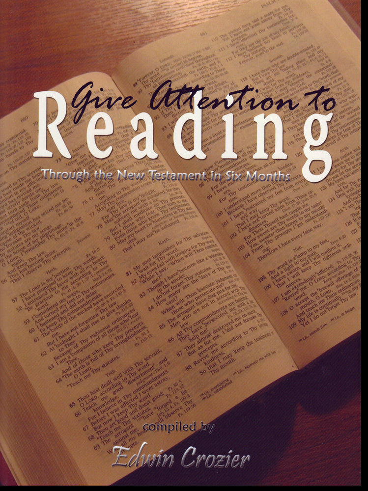 Give Attention To Reading