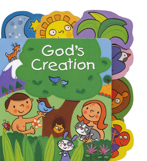 God's Creation Tabbed Board Book