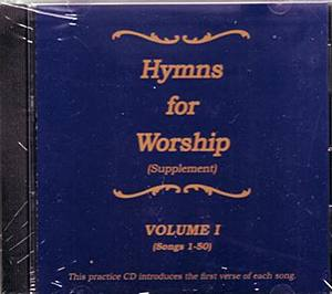 Hymns For Worship Supplement Practice CD #1