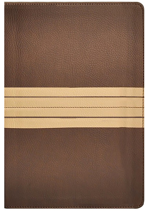 NIV Journal the Word Reference Bible Brown/Tan Leathersoft