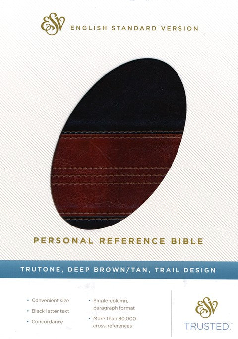 ESV Personal Size Reference Deep Brown/Tan TruTone